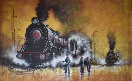 Nostalgia of steam locomotives 35