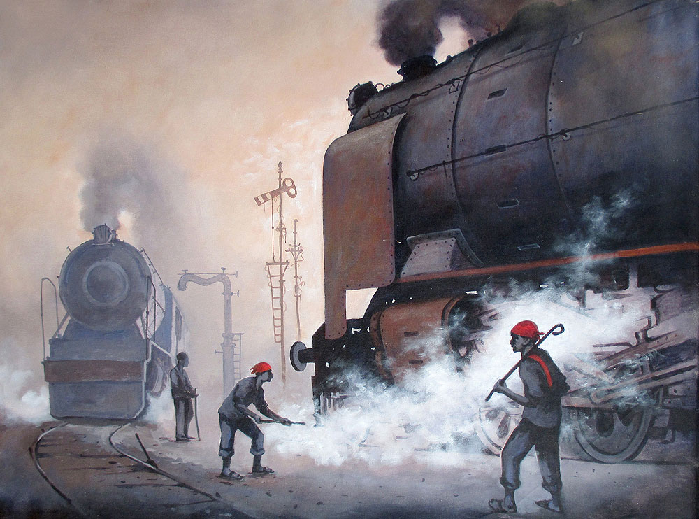 Nostalgia of steam locomotives 9